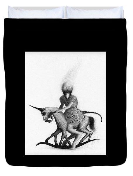 Philippa The Crackling Rider - Artwork  Duvet Cover