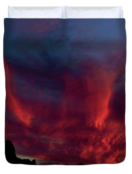Phoenix Risen2 Duvet Cover