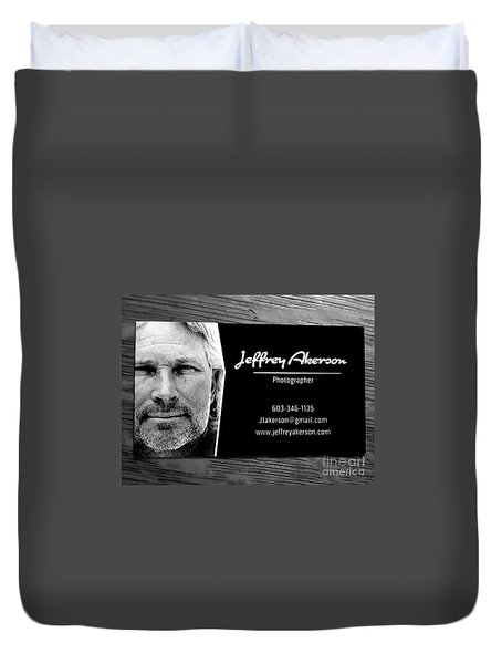 Photographer  Duvet Cover