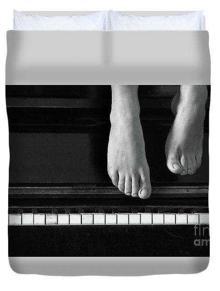 Piano #0215az Duvet Cover