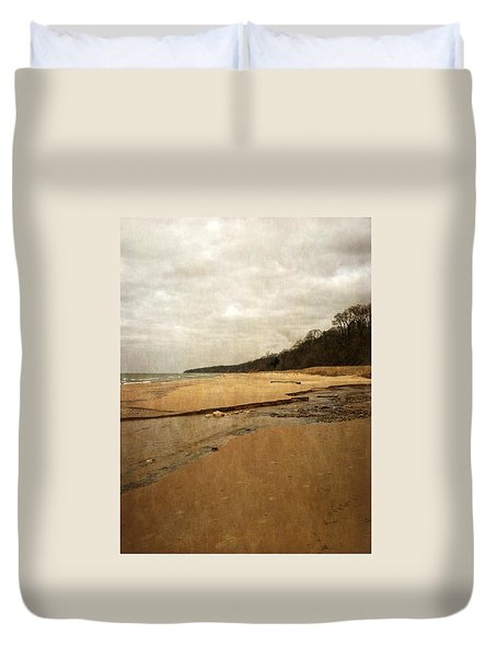 Pier Cove Beach 4.0 Duvet Cover