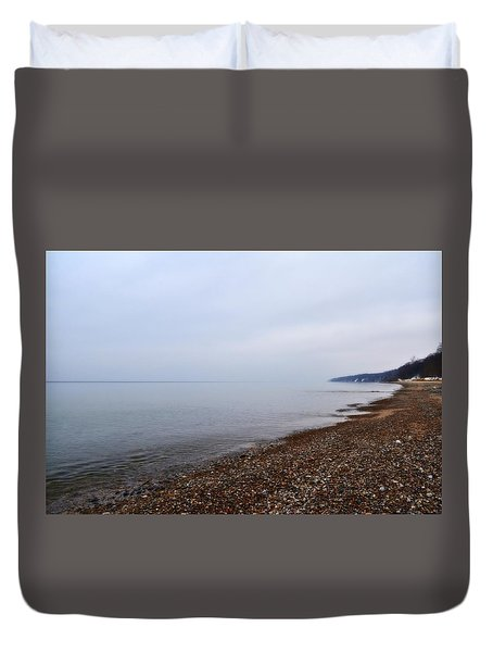 Pier Cove With Stoney Beach 1.0 Duvet Cover