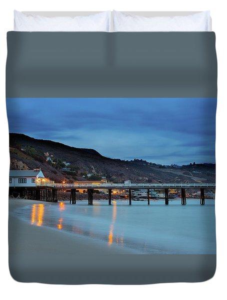 Pier House Malibu Duvet Cover