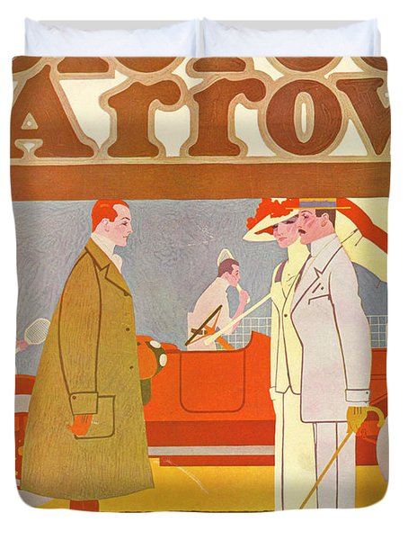 Pierce-arrow Advertisement Duvet Cover