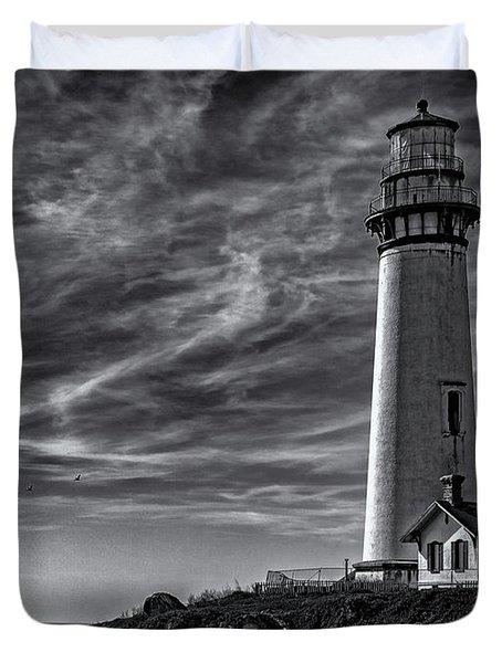Pigeon Point Light Station Duvet Cover