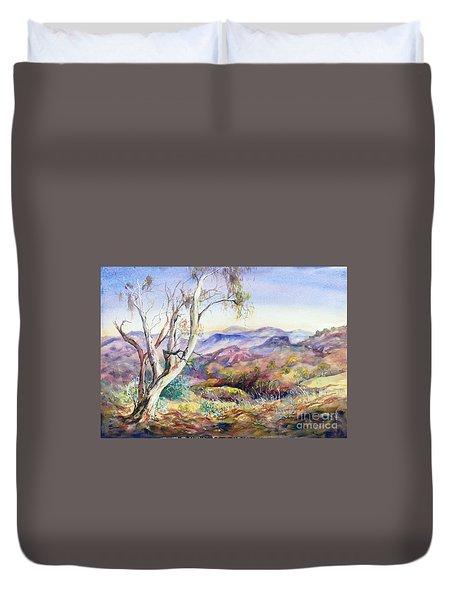 Pilbara, Hamersley Range, Western Australia. Duvet Cover