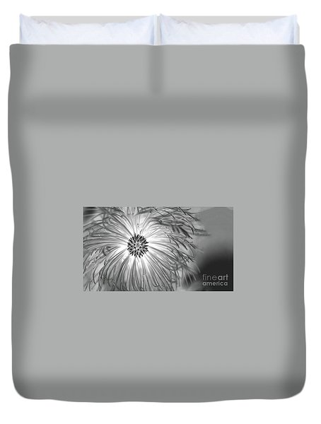 Pine Cone With Needle Halo Duvet Cover