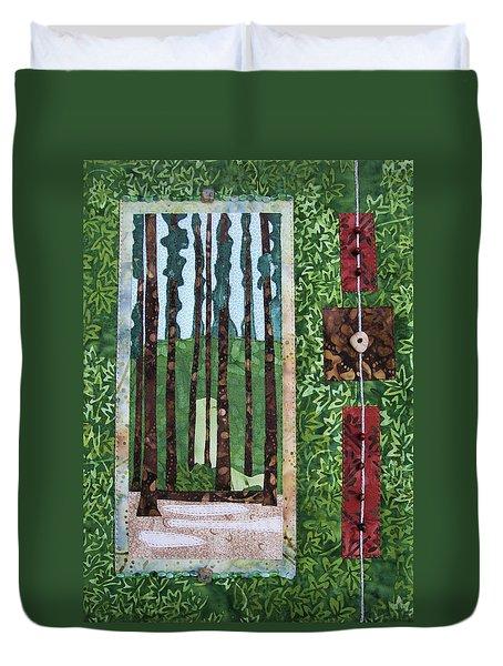 Pine Forest Tall Duvet Cover