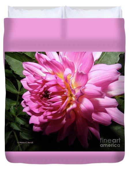 Pink Flower No. 58 Duvet Cover