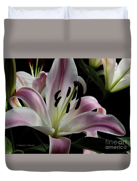 Pink Flowers No. 61 Duvet Cover