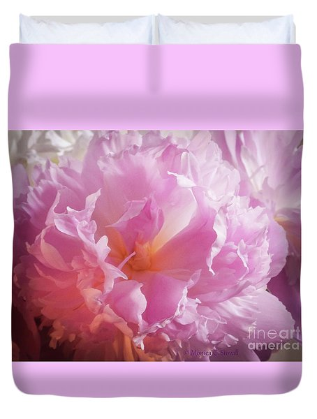 Pink Flowers No. 77 Duvet Cover