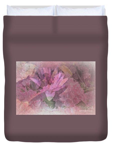 Pink Haze Duvet Cover