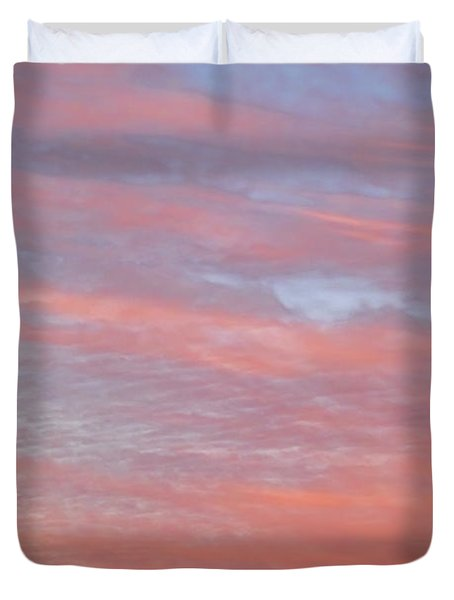 Pink In The Sky Duvet Cover