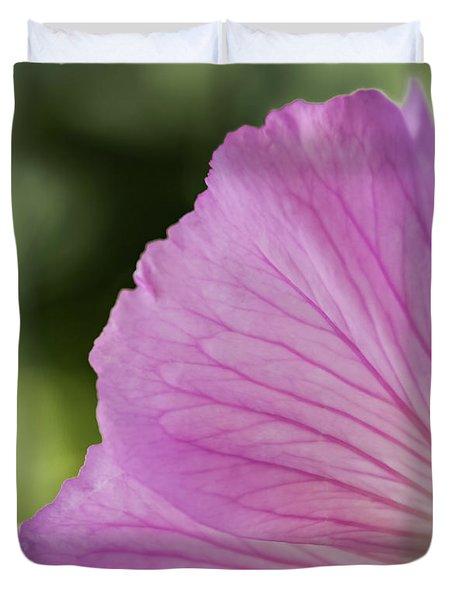 Pink Vains Duvet Cover