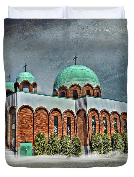 Place Of Worship Duvet Cover