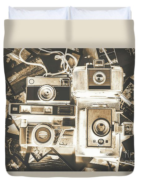 Placed In The Dark Room Duvet Cover