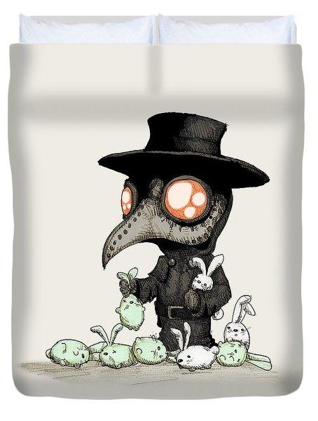 Plague Doctor Experiments  Duvet Cover
