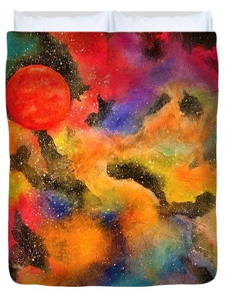 Planet Arcturus Duvet Cover