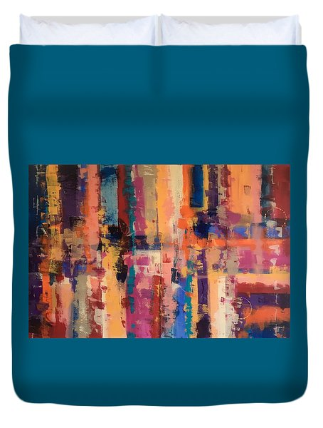 Playful Colors Iv Duvet Cover
