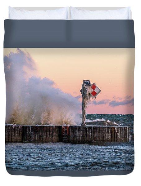 Point Breeze Duvet Cover