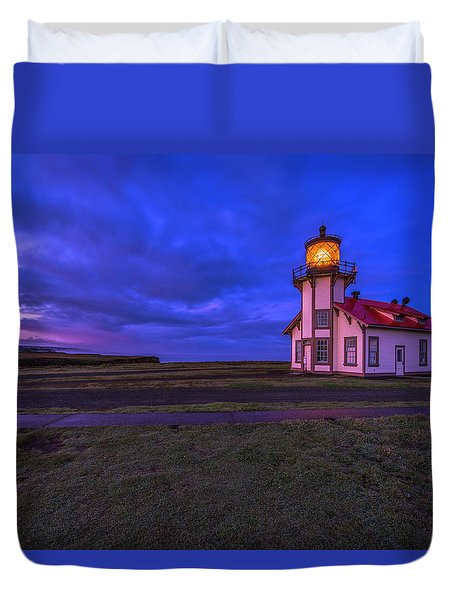 Point Cabrillo Light Station - 3 Duvet Cover