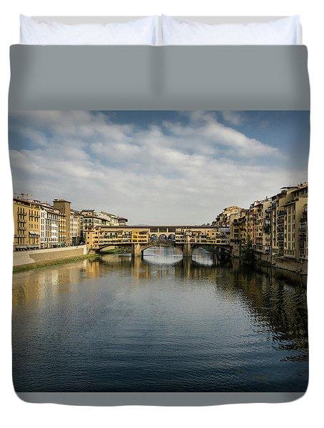 Ponte Vecchio Duvet Cover