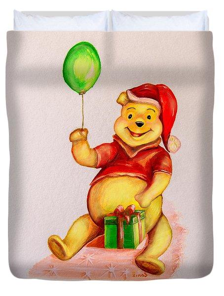Pooh Bear 2 Duvet Cover