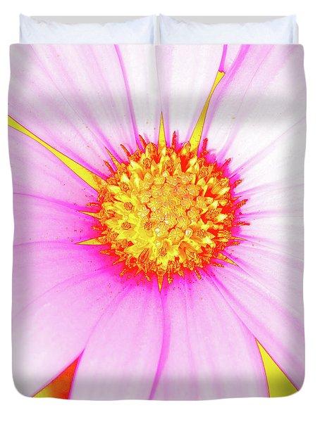 Pop Art Osteospermum 3 Duvet Cover