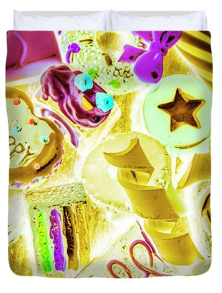 Pop Art Party Duvet Cover