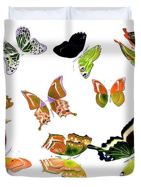 Pop Art Tropics Duvet Cover