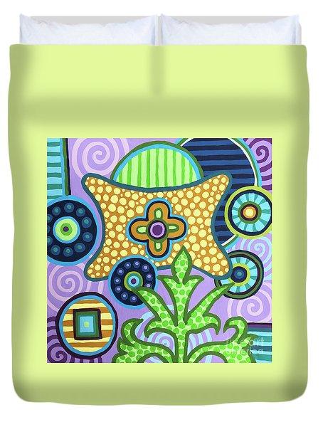 Pop Botanical 2 Duvet Cover