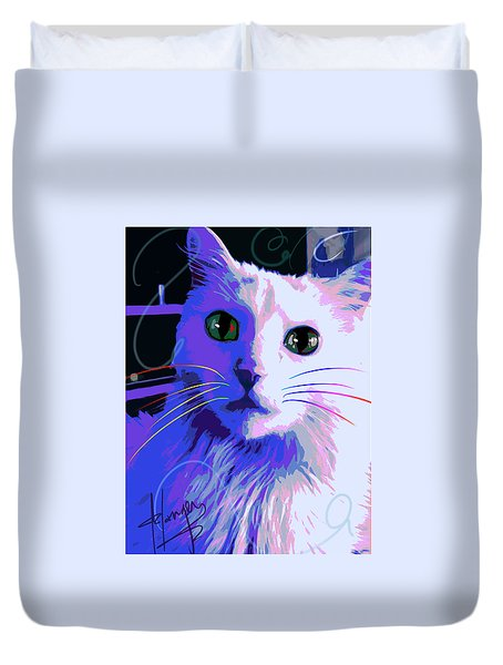 Pop Cat Bug Duvet Cover