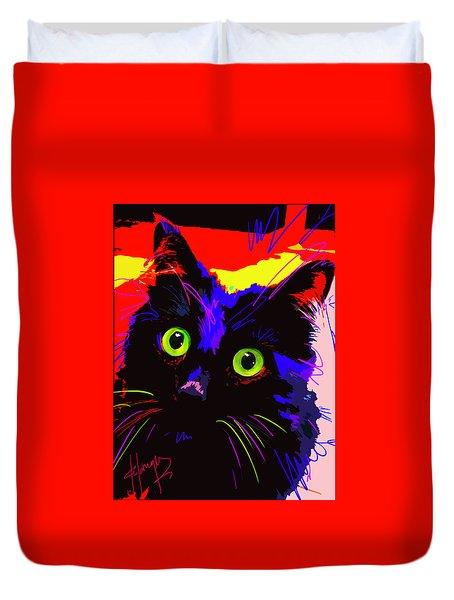 Pop Cat Lenny Duvet Cover