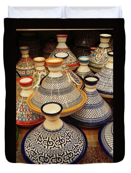 Porcelain Tagine Cookers  Duvet Cover