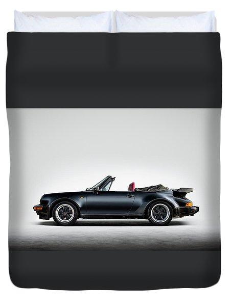 Porsche 911 Cabrio Duvet Cover
