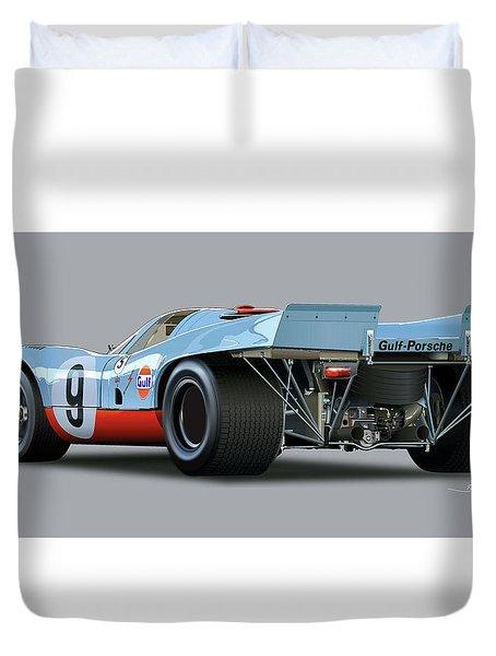 Porsche 917 Rear  Duvet Cover