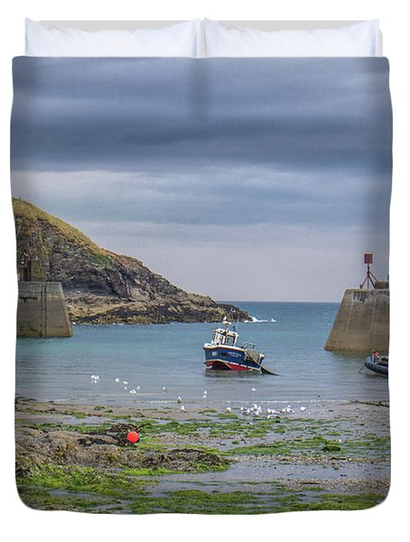 Port Isaac Fishing Duvet Cover