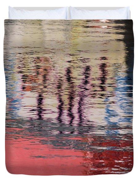 Port Reflections Duvet Cover