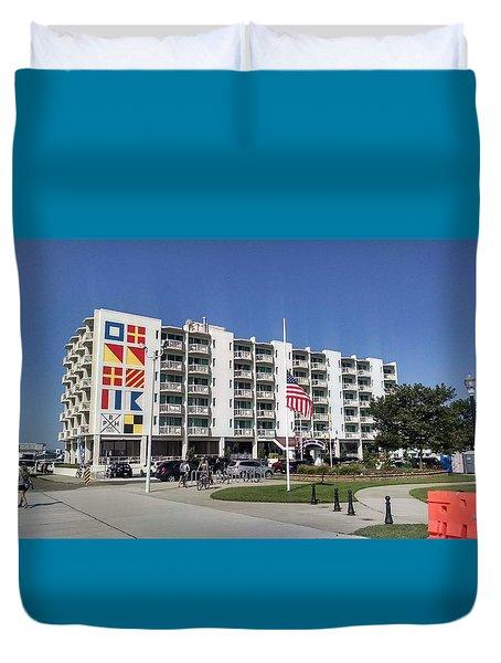 Port Royal Hotel Wildwood Nj 2019 Duvet Cover