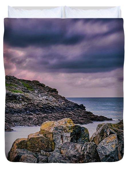 Porthgwidden Dramatic Sky Duvet Cover