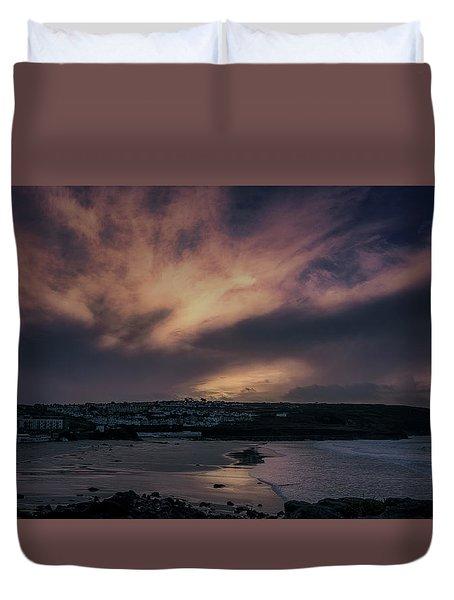 Porthmeor Sunset 4 Duvet Cover