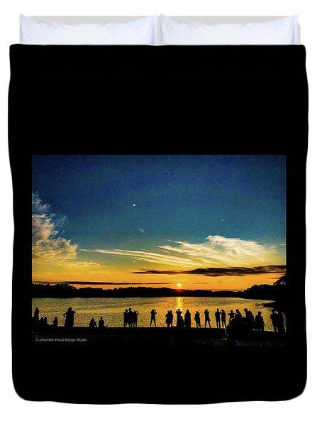Portland Pauls Sunset Duvet Cover
