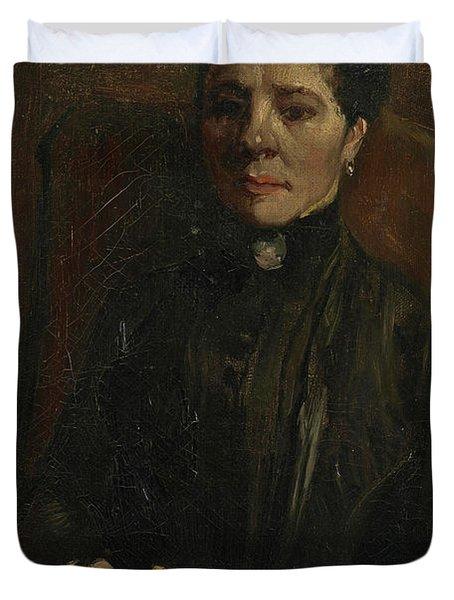 Portrait Of A Woman - 1 Duvet Cover