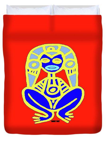 Pourto Rican Native Art Duvet Cover