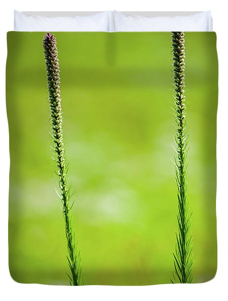 Prairie Blazing Star Duvet Cover