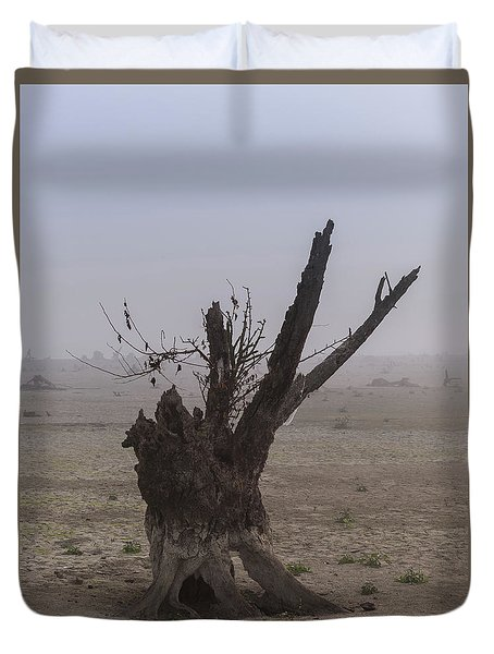 Duvet Cover featuring the photograph Prayer Of The Ent by Davor Zerjav