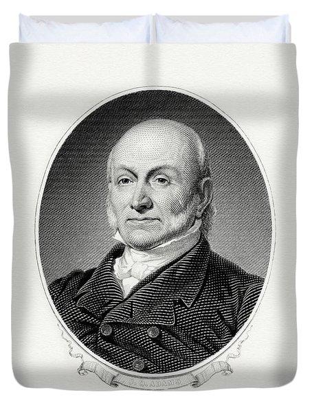 President John Quincy Adams Duvet Cover