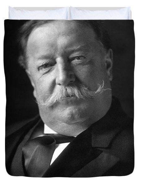 President William Howard Taft - 1909 Duvet Cover