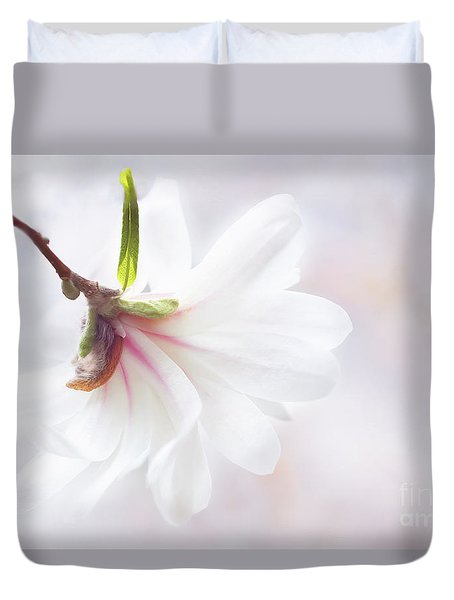 Pretty In Pastel Star Magnolia Duvet Cover