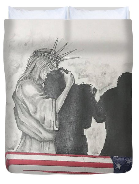 Price Of Liberty Duvet Cover